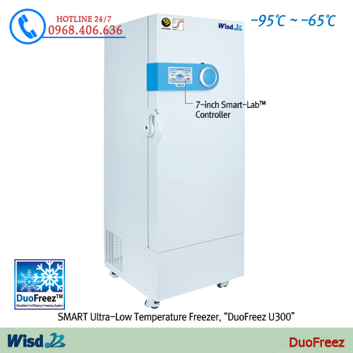Hình ảnh Tủ lạnh âm sâu Daihan-95℃DuoFreez U300 sản phẩm có sẵn tại Stech Sài Gòn