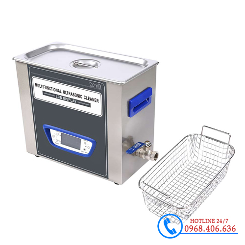 Hình ảnh Bể rửa siêu âm Trung Quốc Jeken TUC-45 (4.5 lít) cung cấp bởi Stech Sài Gòn. Sản phẩm có sẵn tại Hà Nội và Hồ Chí Minh