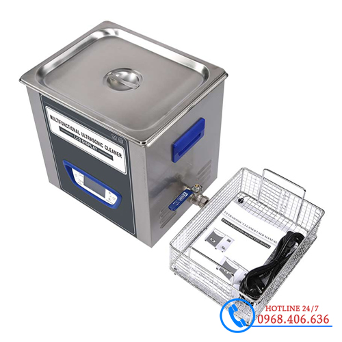 Hình ảnh Bể rửa siêu âm Trung Quốc Jeken TUC-100 (10 lít) cung cấp bởi Stech Sài Gòn. Sản phẩm có sẵn tại Hà Nội và Hồ Chí Minh