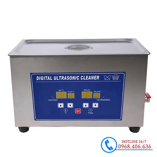 Hình ảnh Bể rửa siêu âm Trung Quốc Jeken PS-80A (22 lít) sản phẩm có sẵn tại Stech Sài Gòn