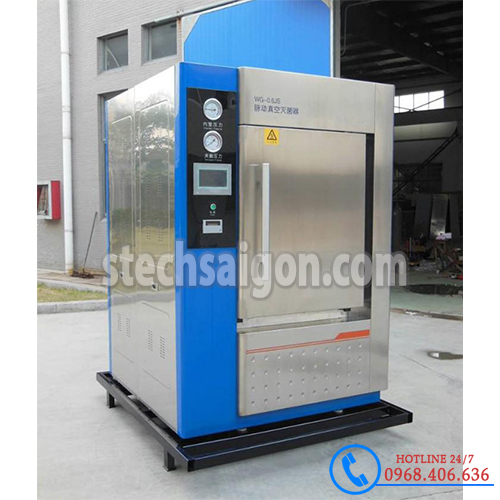 Hình ảnh Nồi hấp tiệt trùng sấy chân không Jibimed WG-0.25 (280 lít) cung cấp bởi Stech Sài Gòn. Sản phẩm có sẵn tại Hà Nội và Hồ Chí Minh