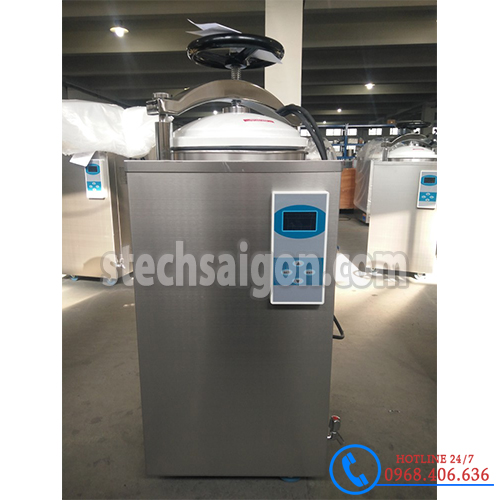 Hình ảnh Nồi hấp tiệt trùng sấy tự động 100 lít Jibimed SAT-100D (Màn hình LCD) cung cấp bởi Stech Sài Gòn. Sản phẩm có sẵn tại Hà Nội và Hồ Chí Minh