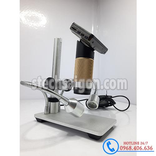Hình ảnh Kính hiển vi điện tử Trung Quốc SVM-300( LCD 3 inch+đèn râu) sản phẩm có sẵn tại Stech Sài Gòn