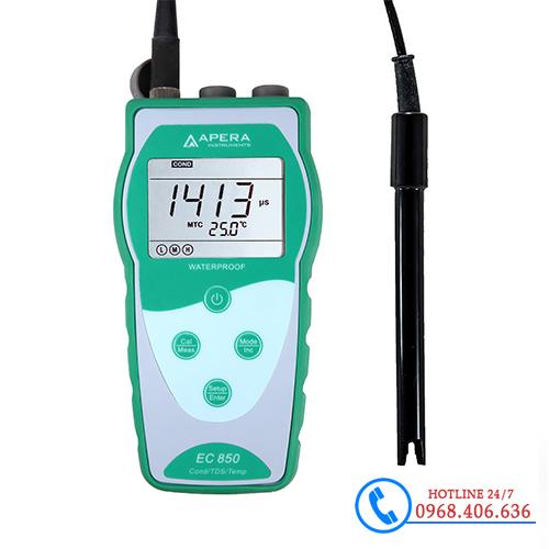 Hình ảnh Máy đo độ dẫn/TDS/độ mặn/nhiệt độ APERA EC850 sản phẩm có sẵn tại Stech Sài Gòn