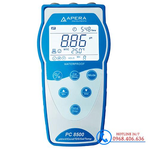 Hình ảnh Máy đo độ dẫn/TDS/độ mặn/nhiệt độ APERA EC8500 ( Lưu dữ liệu ) sản phẩm có sẵn tại Stech Sài Gòn