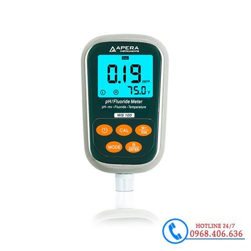 Hình ảnh Máy đo Flo/pH/nhiệt độ cầm tay APERA WS100 sản phẩm có sẵn tại Stech Sài Gòn