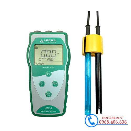 Hình ảnh Máy đo pH/ độ dẫn/ TDS/ nhiệt độ cầm tay APERA SX823-B sản phẩm có sẵn tại Stech Sài Gòn