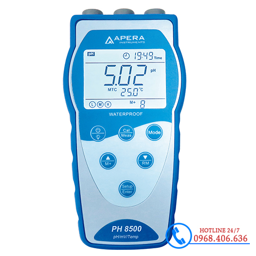 Hình ảnh Máy đo pH/độ dẫn/mV/nhiệt độ cầm tay APERA PH8500 ( Có lưu dữ liệu ) sản phẩm có sẵn tại Stech Sài Gòn