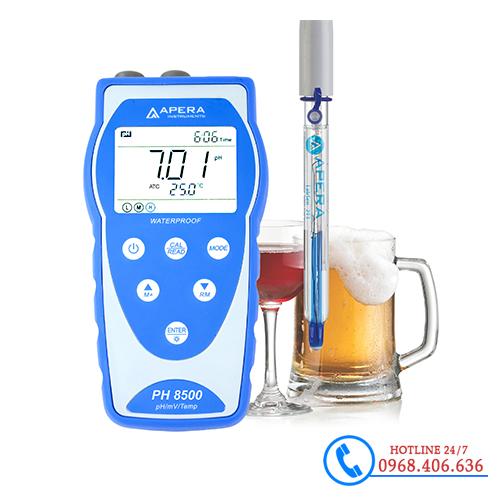 Hình ảnh Máy đo pH/độ dẫn/mV/nhiệt độ dùng trong đồ uống APERA PH8500-BR ( Có lưu dữ liệu ) sản phẩm có sẵn tại Stech Sài Gòn