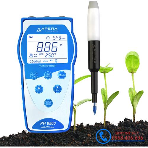 Hình ảnh Máy đo pH/độ dẫn/mV/nhiệt độ dùng trong đất APERA PH8500-SL( Có lưu dữ liệu ) sản phẩm có sẵn tại Stech Sài Gòn