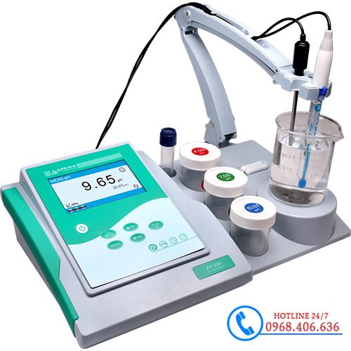 Hình ảnh Máy đo pH/mV/nhiệt độ để bàn APERA pH950 (tích hợp khuấy từ) cung cấp bởi Stech Sài Gòn. Sản phẩm có sẵn tại Hà Nội và Hồ Chí Minh