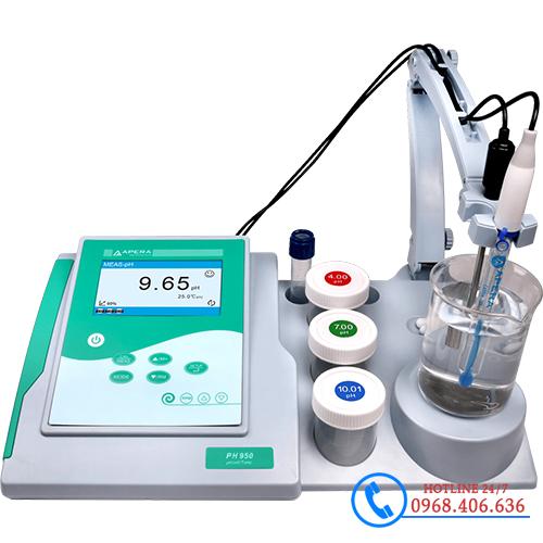 Hình ảnh Máy đo pH/mV/nhiệt độ để bàn APERA pH950 (tích hợp khuấy từ) sản phẩm có sẵn tại Stech Sài Gòn