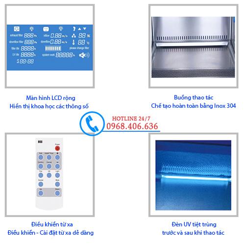 Hình ảnh Tủ an toàn sinh học cấp II Biobase 11231BBC86 cung cấp bởi Stech Sài Gòn. Sản phẩm có sẵn tại Hà Nội và Hồ Chí Minh