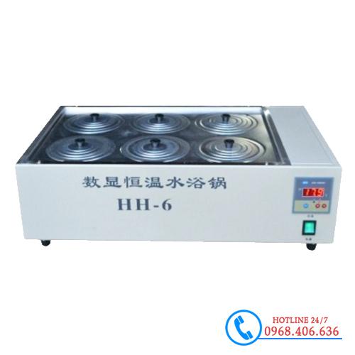 Hình ảnh Bể ổn nhiệt Trung Quốc 6 vị trí HH-6 sản phẩm có sẵn tại Stech Sài Gòn