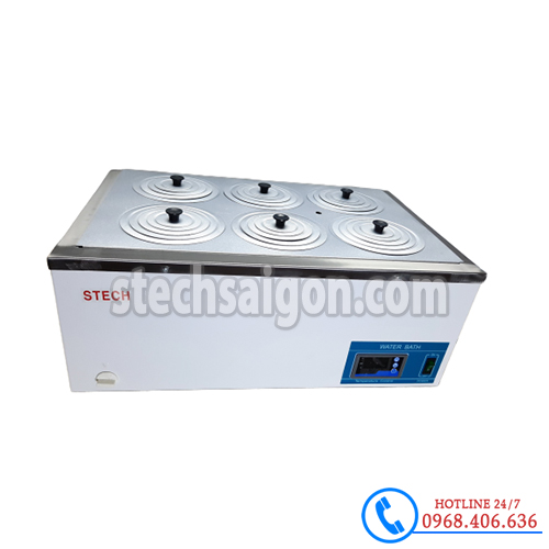 Hình ảnh Bể ổn nhiệt Trung Quốc 6 vị trí HH-S6 sản phẩm có sẵn tại Stech Sài Gòn