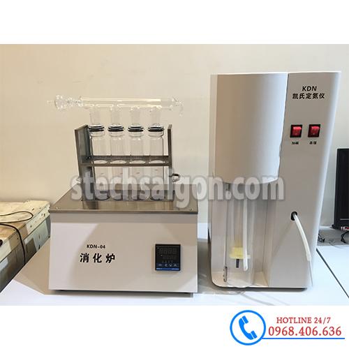 Hình ảnh Máy cất đạm tự động Trung Quốc KDN-04 sản phẩm có sẵn tại Stech Sài Gòn