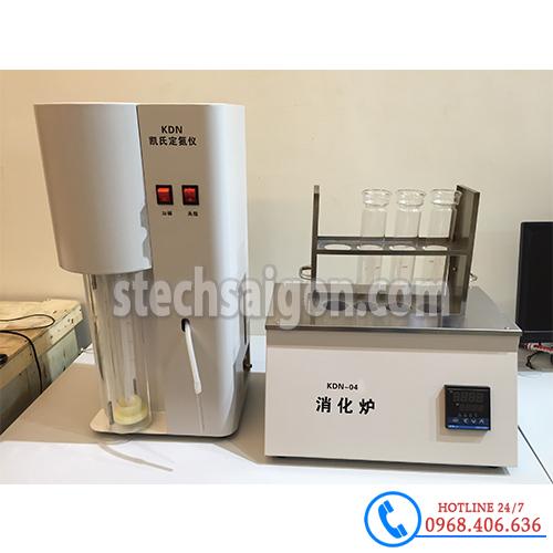 Hình ảnh Máy cất đạm tự động Trung Quốc KDN-04 cung cấp bởi Stech Sài Gòn. Sản phẩm có sẵn tại Hà Nội và Hồ Chí Minh