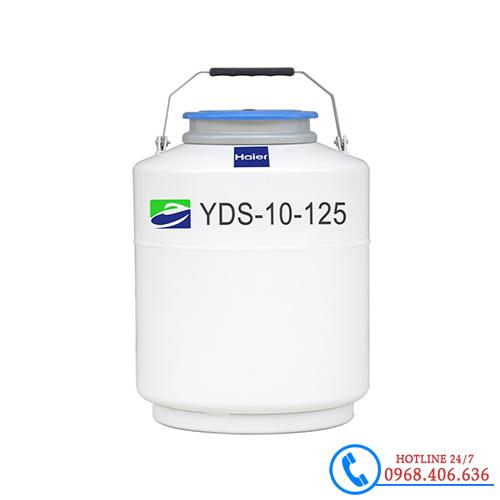 Hình ảnh Bình đựng nito lỏng 10 lít haier YDS-10-125 sản phẩm có sẵn tại Stech Sài Gòn