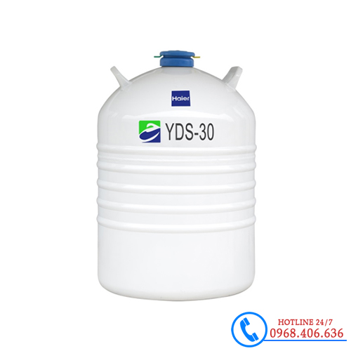 Hình ảnh Bình đựng nito lỏng 30 lít haier YDS-30B sản phẩm có sẵn tại Stech Sài Gòn