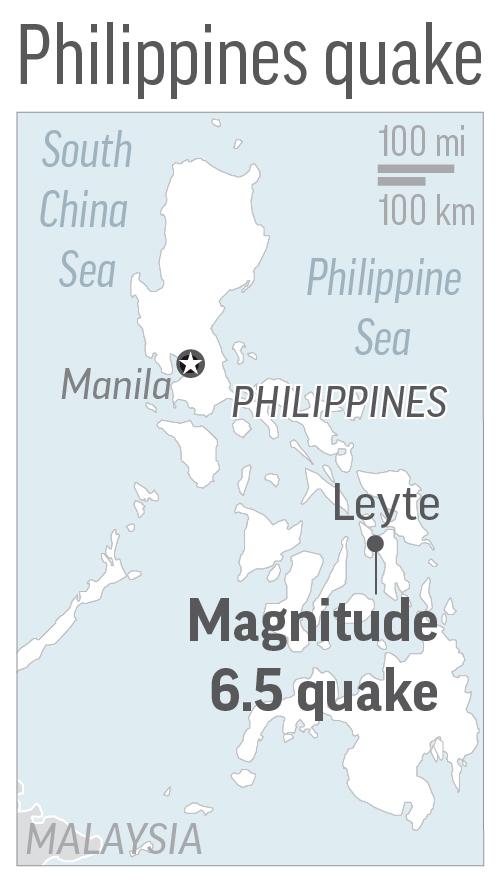 Philippines Earthquake