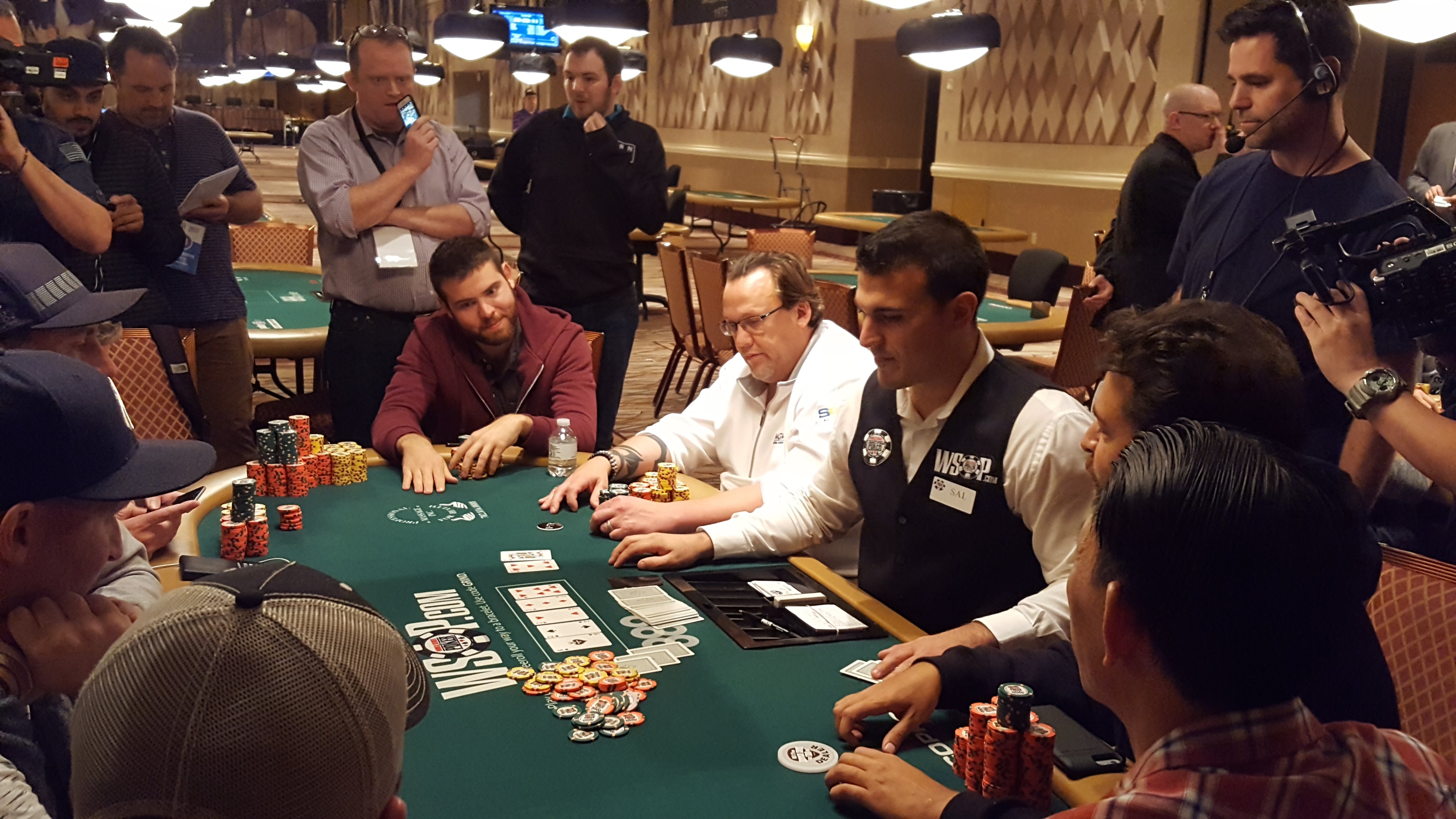 Mickey Craft at the World Series of Poker