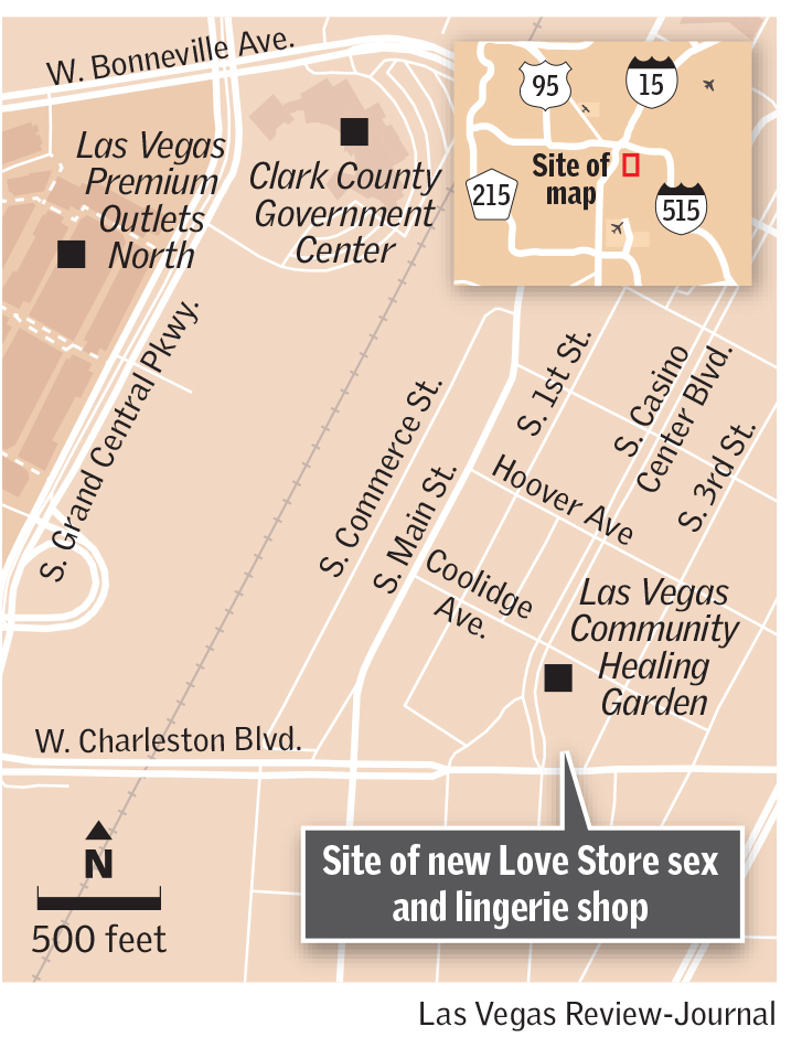Love Store map