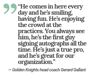 Gallant Quote (Las Vegas Review-Journal)