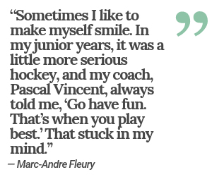 Fleury smile quote (Las Vegas Review-Journal)
