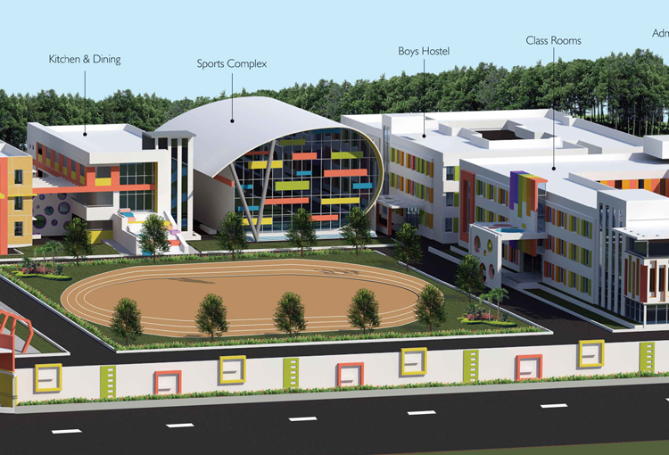 Dr. K.K.R's Gowtham Educational Institutions Visakhapatnam, International Schools in Vizag