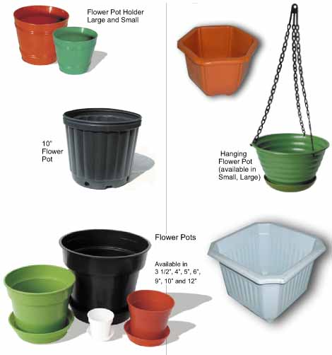 plastic fower pot mould
