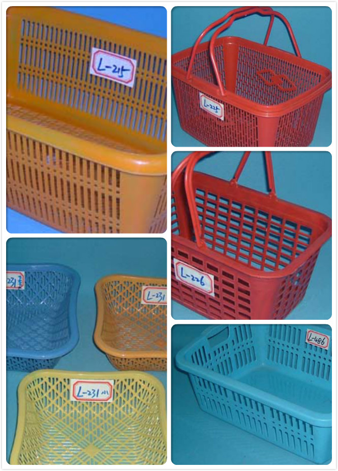 plastic basket mould