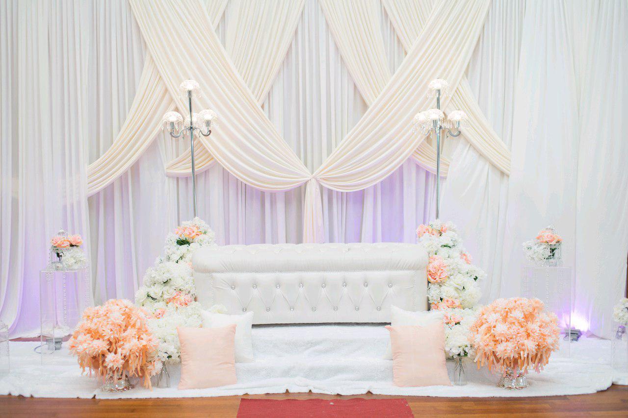 دکور مراسم عروسی