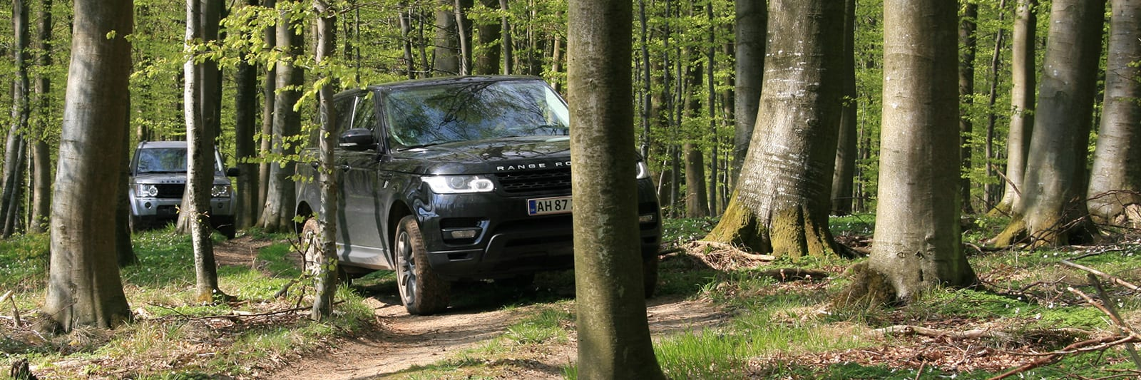 Prøv en Land Rover i terræn