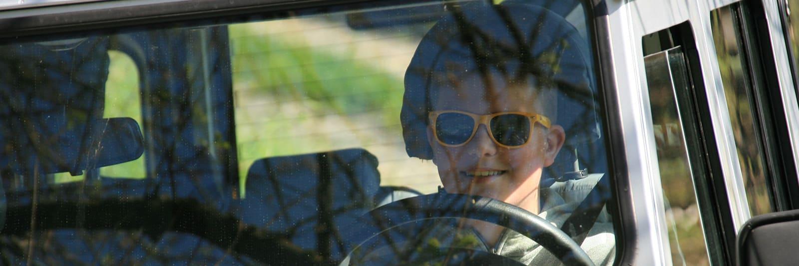 Land Rover Young driver er for de unge fra 14 år og opefter
