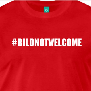 #BILDnotwelcome Trending Topic T-Shirt