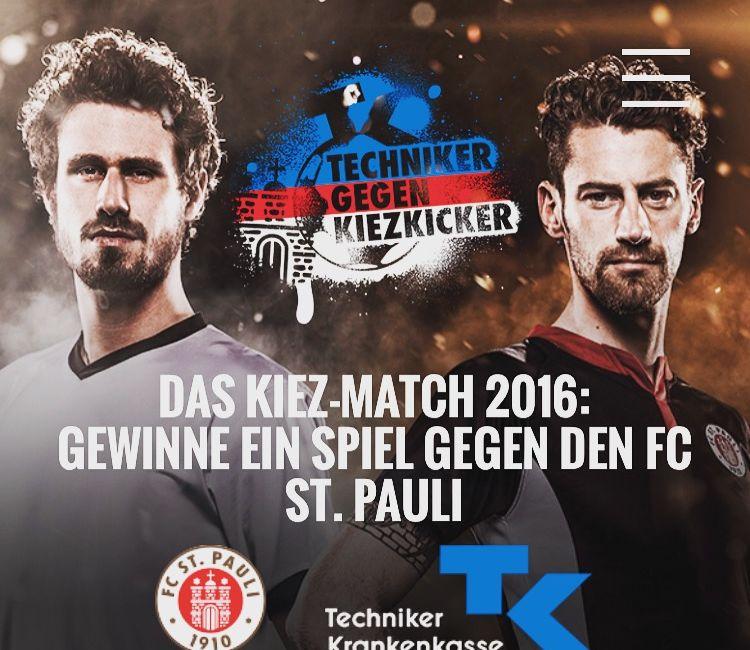 Kiez-Match 2016: Spielen wie die Profis – gegen Profis