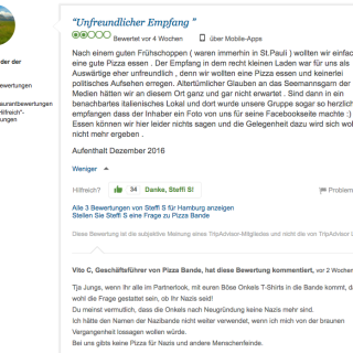 Pizza Bande Bewertung Trip Advisor