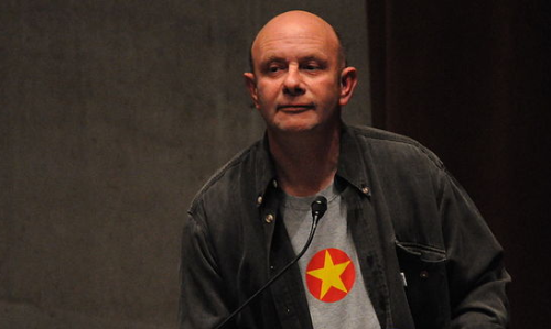 Nick Hornby, Fußball-Philisoph und Bestseller-Autor. Foto: Joe Mabel Lizenz: GFDL, CC-BY-SA-3.0 granted by photographer