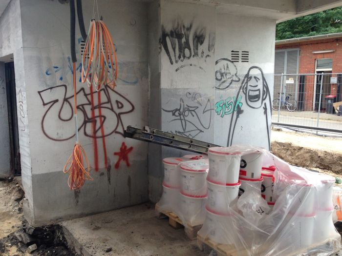 Baustelle Rindermarkthalle St. Pauli