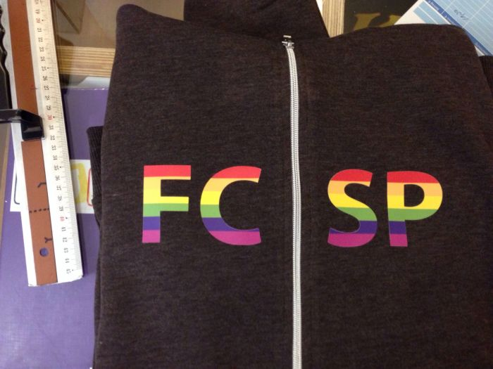 FC St. Pauli Hoodie Regenbogen