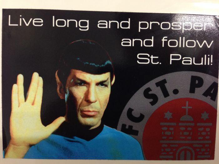 Sticker FC St. Pauli Spock Enterprise