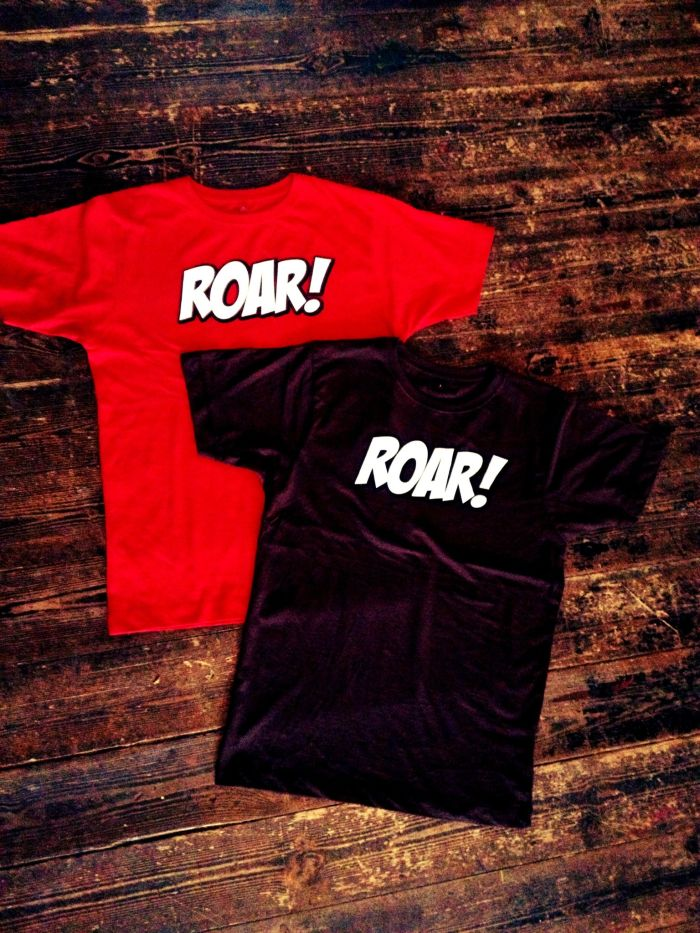 Roar-Shirt fertig