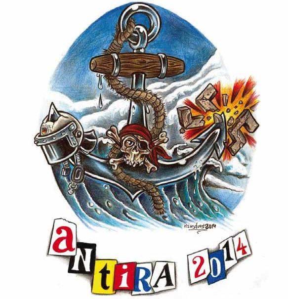 8. AntiRa Turnier Millerntor Logo