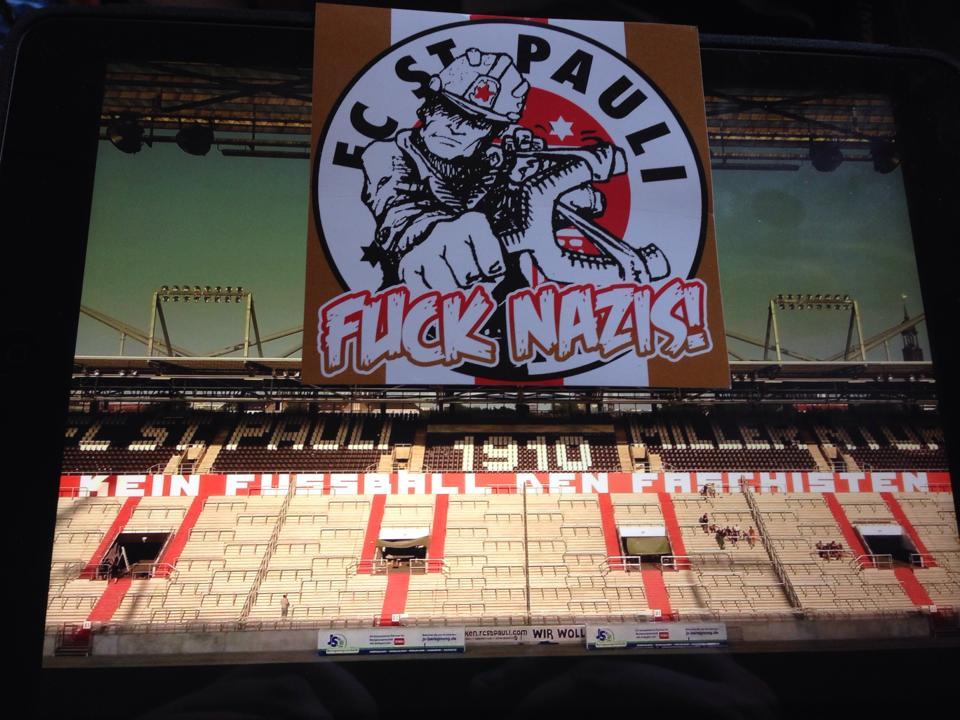 """Keinen Bock Auf Nazis"" Foto: https://www.facebook.com/koenig.georg?fref=photo"