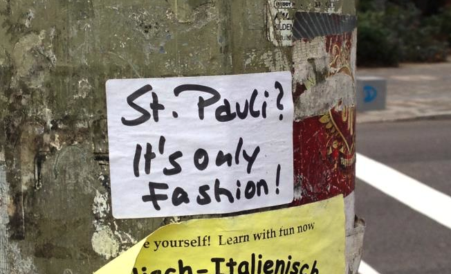 St. Pauli its only fashion