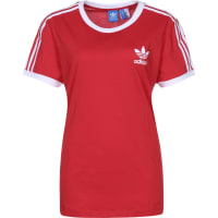 adidas 3 Stripes W T-Shirt vivid red