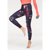 adidas Performance Leggings »FLOWER TIGHT«, blau, Normalgrößen, rot-blau