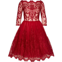 Chi Chi London Tüllkleid Aviana rot