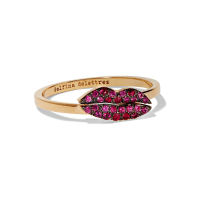 Delfina Delettrez 18-karat Gold Ruby Ring