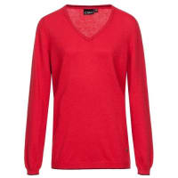 F.lli Campagnolo Knitted Pullover 7H26456 rot